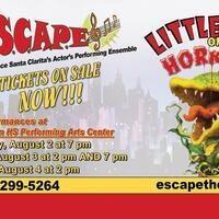 """ESCAPE Theatre presents """"Little Shop of Horrors"""""""