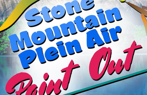 Stone Mountain Plein Air Paint Out