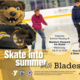Skate with Bruins' Mascot Blades