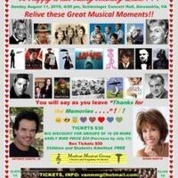 """Medical Musical Group presents """"A Sentimental Musical Journey"""""""