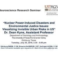 Neuroscience Research Seminar Series with Speaker Dr. Dean Kyne