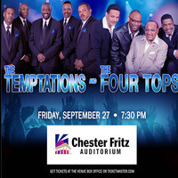 The Temptations & The Four Tops - Canceled due to illness