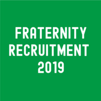 Fraternity Recruitment Week