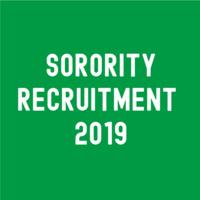 Sorority Recruitment Weekend