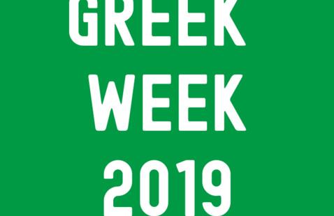 Greek Week 2019