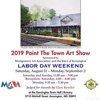 "Kensington ""Paint the Town"" Labor Day Weekend 2019 Art Show"