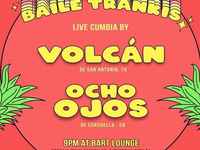 Sunday Show! Live Cumbia by Volcán & Ocho Ojos! No Cover!