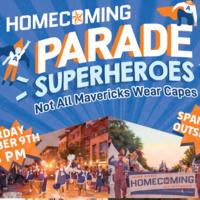 Homecoming Parade and Pep Rally @ Spaniolo Drive