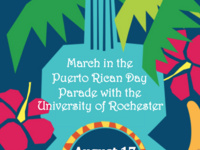 University of Rochester at the Puerto Rican Parade