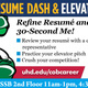 Resume Dash & Elevator Pitch