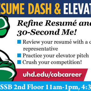 Resume Dash & Elevator Pitch