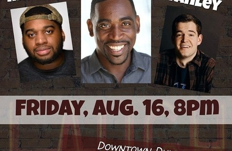 Comedy Wit Productions & Eddie Owen Presents: Comedy on the Clay with Cyrus Steele, Andrew Stanley & Mandal