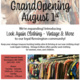 Grand Opening- Look Again Clothing Shop