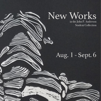 New Works in the John P. Anderson Student Collection 2019