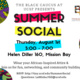 The Black Caucus at UCSF presents: Summer Social 2019