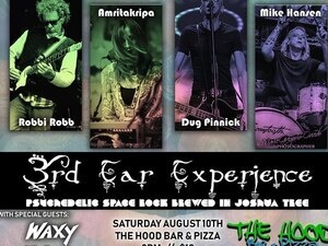 TONIGHT - 3rd Ear Experience - Waxy - Billy Tsounis and The Amazing Androids