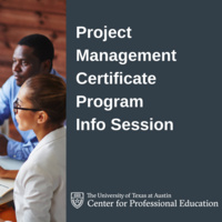 Project Management Certificate Program Info Session