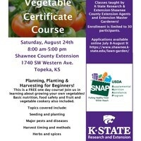 Vegetable Certificate Course