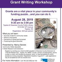 Grant Writing Workshop