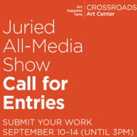 Call for Entries – September Juried All-Media Show