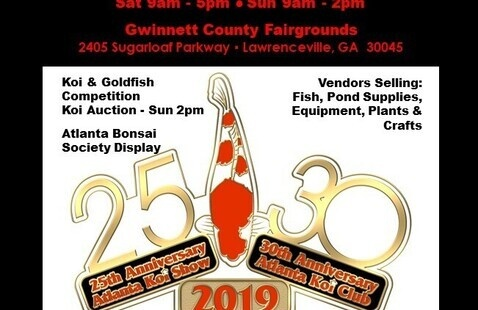 25th Annual Atlanta Koi & Goldfish Show
