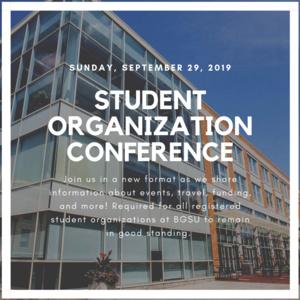 Student Organization Conference