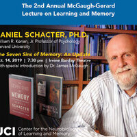 The 2nd Annual McGaugh-Gerard Lecture on Learning and Memory Featuring Dr. Daniel Schacter