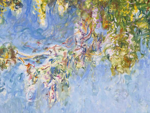 Claude Monet's late painting