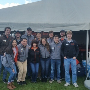 Schmidthorst College of Business Homecoming Tailgate Tent Party