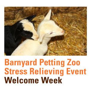 Fall Welcome Library Barnyard Petting Zoo