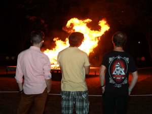 Annual Bonfire and Pep Rally