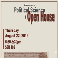 Political Science Fall Open House - Evening