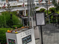 Oyster Cart on The Patio Bar by David Burke