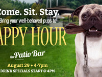 Yappy Hour on The Patio Bar by David Burke