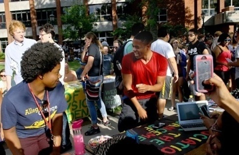 2019 Student Involvement Fair and Student Celebration for Dr. Link