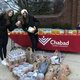 Chabad students doing a food drive