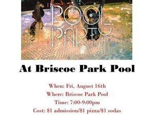 At Briscoe Park Pool