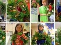 Wintry Wreaths- Friday, Dec. 6