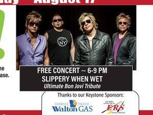 Snellville Live on the Lawn-Slippery When Wet-The Ultimate Bon Jovi Tribute