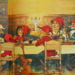 """""""The Tomtes' Christmas Porridge: A Wintry Mix of Scandinavian Story and Song"""""""