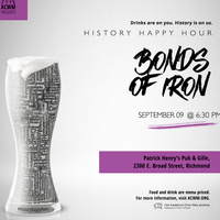 History Happy Hour: Bonds of Iron–Slavery and Richmond's Tredegar Ironworks