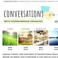 Conversation Cafe - Texas Capitol