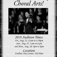 Lehigh University Choral Arts Auditions | Music