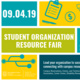 Student Organization Resource Fair