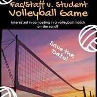 VOLLEYBALL: Students vs Staff/Faculty