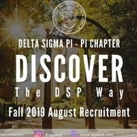 Delta Sigma Pi Recruitment