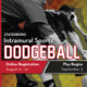 Dodgeball Registration - Statesboro