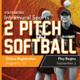 2-Pitch Softball Registration