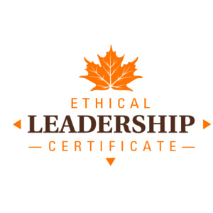 Ethical Leadership Certificate Fall 2019 Session 1: Leadership and Values