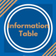 2020 Census Information Table